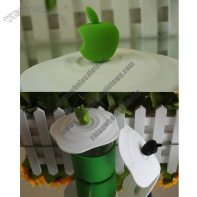 Apple Shaped Silicone Cup Cover Mug Lid