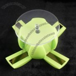Apple shape solar display turntable stand with light