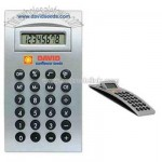 Arch shaped desktop calculator