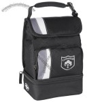 Arctic Zone Dual Compartment Lunch Cooler Bag