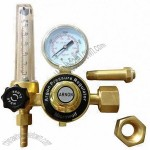 Argon Pressure Regulator, Gas Flowmeter Tube, Brass Type