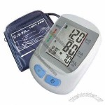 Arm-type fully automatic blood pressure monitor, 120 memory, big LCD display