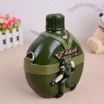 Army Bottle Resin Money Bank