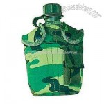 Army bottle with water filter
