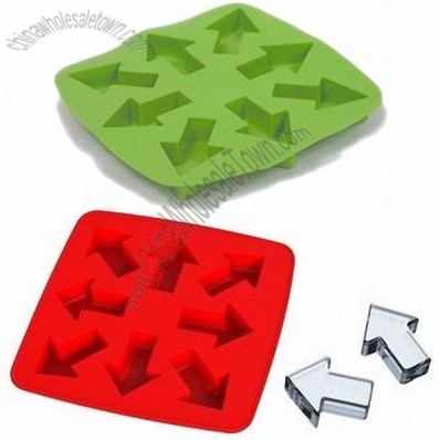 Arrow Sign Silicone Ice Cube Tray