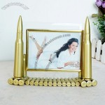 Artificial Bullet Shell 5 Inch Photo Frame