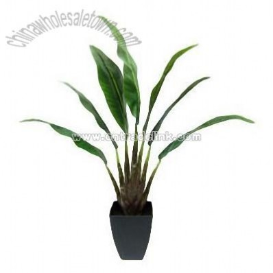 Artificial Potted Palm Plant