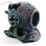 Artificial Submersible Diving Chamber Wreckage Landscaping Aquarium Resin Decoration