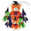 Assorted Color Hi-Mink Sitting Bears