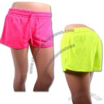 Athletic Neon Colored Shorts for Women in 4 Sizes