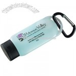 Atlantic Anti-bacterial Gel Carabiner Bottle - 2oz
