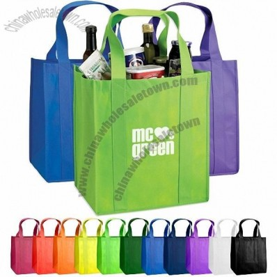 Atlas Nonwoven Grocery Tote Bag