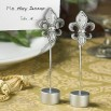 Attractive Fleur Di Lis Place Card Holder Favors