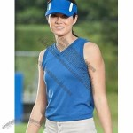 Augusta Ladies Sleeveless V-Neck Jersey