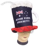 Aussie Party Animal Beer Top Hat
