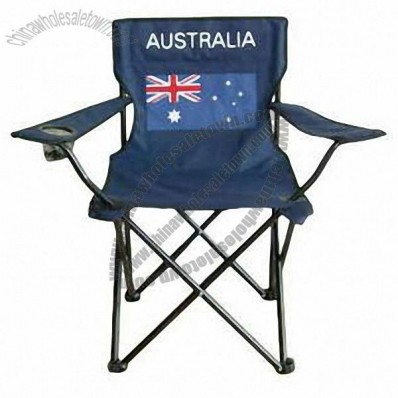 Australia Flag Collapsable Beach Chair