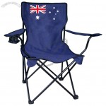 Australian Flag Outdoor Folding Chair