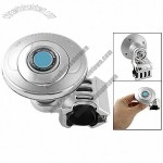 Auto Car Steering Wheel Safty Assist Power Handle Round Knob Silver Tone