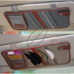Auto Car Sun Shade CD Case Cover Holder