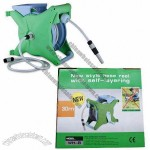 Auto Hose Reel Kit, with 1/2-inch x 9/15/20/30m PVC Garden Hose