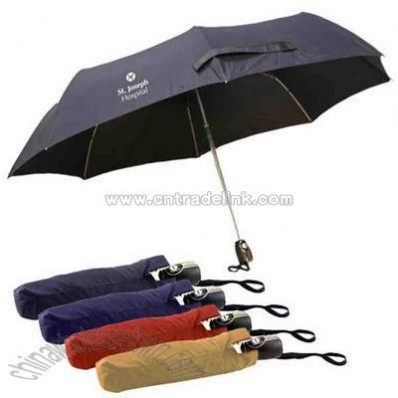 Auto-Open and Close Mini Umbrella with Case