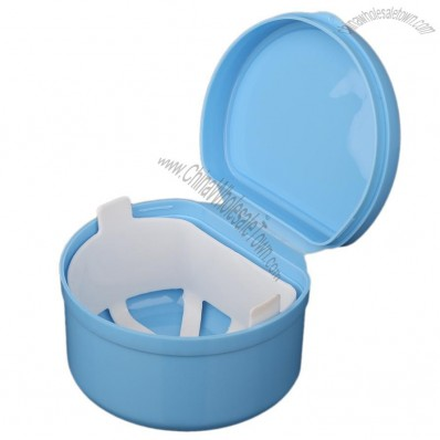 Autoclavable Denture Box, Denture Cleaning Storage Container