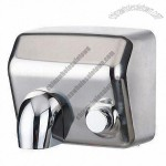 Automatic Hand Dryer with 220 to 240V Voltage, 50Hz Frequency and 2300W Rated Power