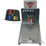 Automatic bowling executive game desk set