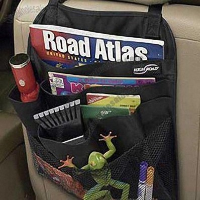 Automobile Back Seat Organizer