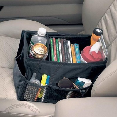 Automobile Seat Storage Bin