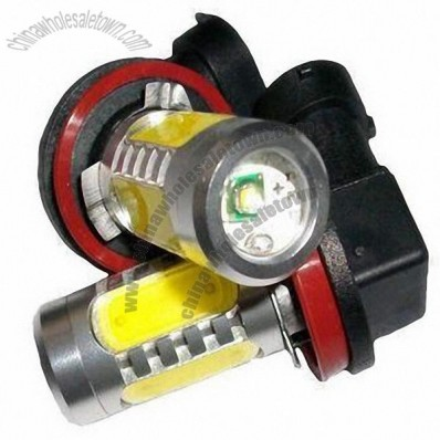 Automotive Fog Light with Long Life Span, Five Pieces 1.5W and One Piece 5W Cree LEDs
