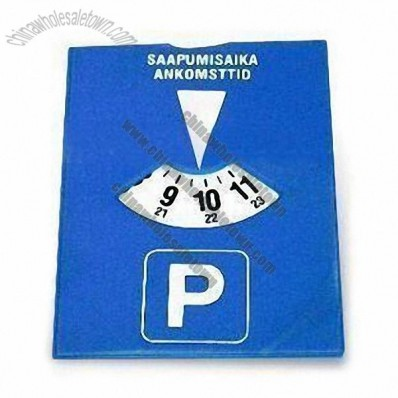 Automotive Parking Disc