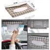Automotive Sun Visor Napkin Holder, Car Tissue Box
