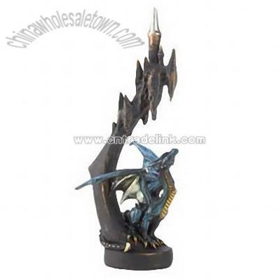 Azure Dragon Figurine