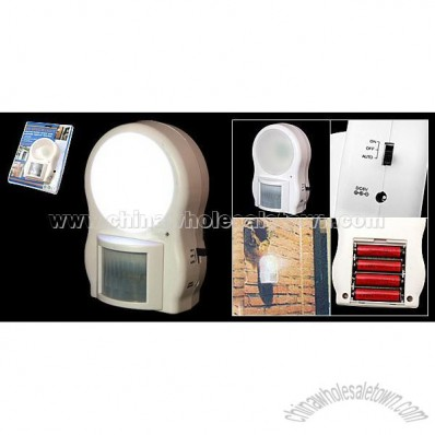 B/O Motion Sensor Light with Automatic Light-on Function