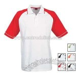 BASIC SYDNEY RAGLAN POLO SHIRTS