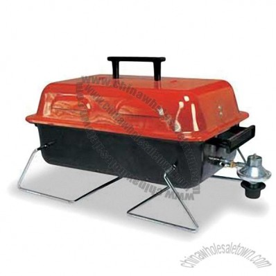 BBQ Grill with Steel Burner Plate and Bakelite Handle