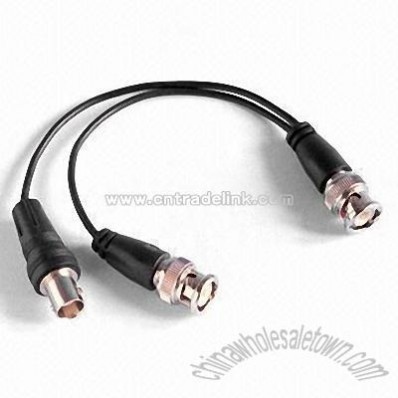BNC Male to BNC Male/Female Multimedia Cable