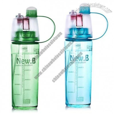 BPA Free Plastic Spray Sport Bottle
