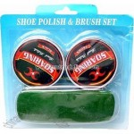 BRUSH&SHOE POLISH 2 PC.SET