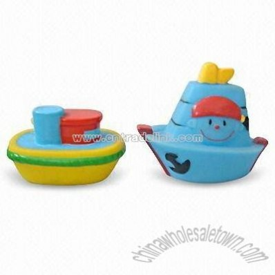 Baby Bath Toys with Boat and Plane Design