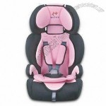 Baby Car Seat with Removable, Comfortable, Washable Fabric Cover and Safe Belt Harness System