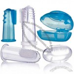 Baby Oral Massager Toothbrush with Clear Case