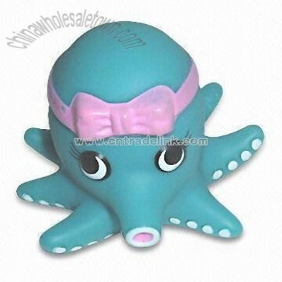 Baby Toy with Octopus Design