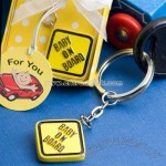 Baby on Board Keychain Favor