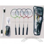 Badminton Set (Including Net +Shuttlecock + Post Set)