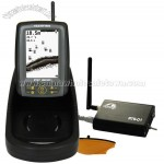 Bait Boat Fish Finder - Big Screen, 300m RC Distance