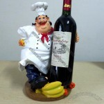 Bakers Design Wine Bottle Holder