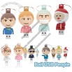 Ball USB People Flash Drives