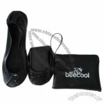 Ballet Shoes With PU Small Bag